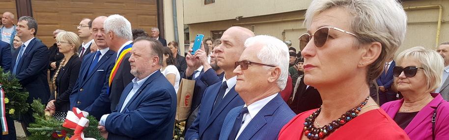 Wizyta delegacji Czchowa w Șimleu Silvaniei