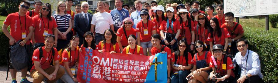Pielgrzymi z Hong Kongu w gminie Czchów